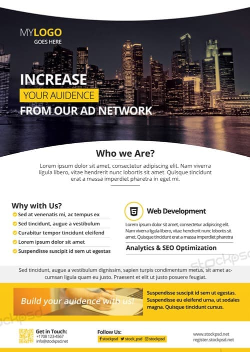 Download the best Free Corporate Flyer PSD Flyer Templates – Corporate Flyer Template