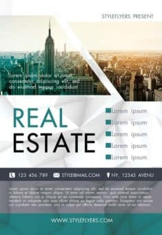free real estate flyers templates