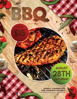 Free BBQ Flyer Template