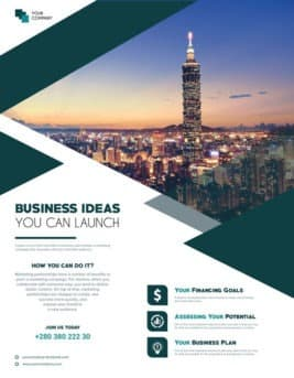 Free Business Ideas Flyer Template