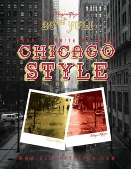 Chicago Style Party Free Flyer Template