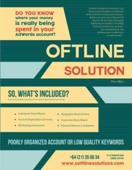 IT Solutions Free PSD Flyer Template