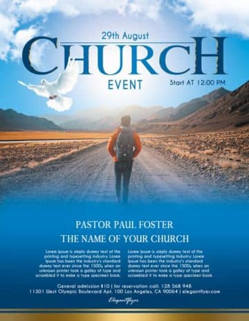 Download Free Church Flyer PSD Templates for Photoshop