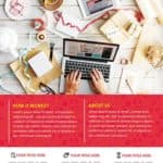 Creative Agency Free Poster Template