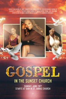 Gospel Choir Free Poster Template