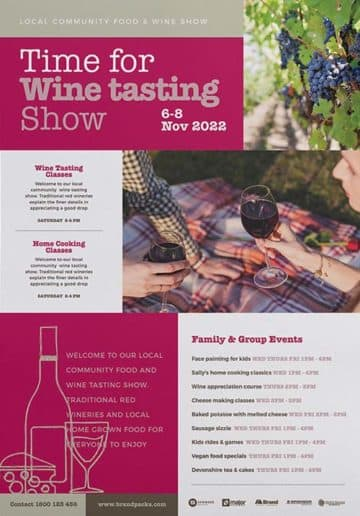 Free Wine Tasting Flyer and Poster Template