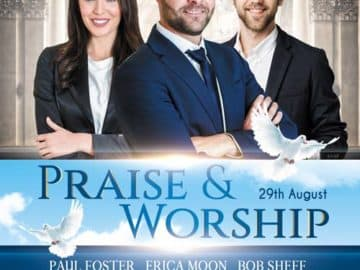 Praise Worship Free Church Flyer Template