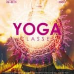 Yoga Classes Free Poster Template