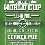 Euro Soccer World Cup Free Flyer Template