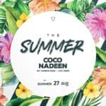 Exotic Summer Party Free Flyer Template