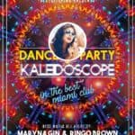 Kaleidoscope Dance Party Free Flyer and Poster Template