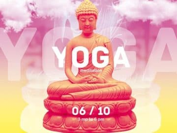 Meditation Yoga Free Flyer and Poster Template