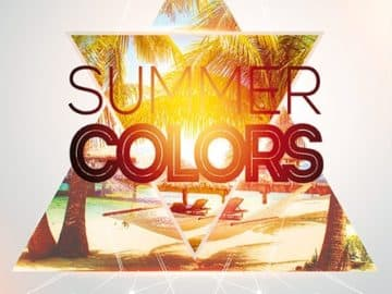 Summer Colors Free Flyer and Poster Template