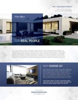 freepsdflyer download the best free real estate flyer templates
