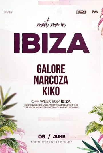 Ibiza Summer Free Flyer Template