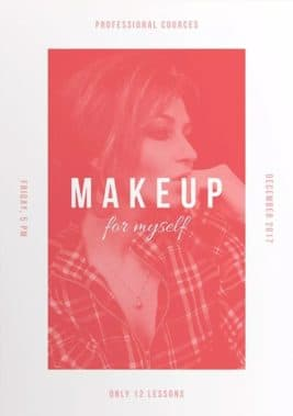Makeup Courses Free Flyer and Poster Template