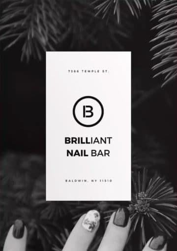 Nail Bar Free Beauty Flyer and Poster Template