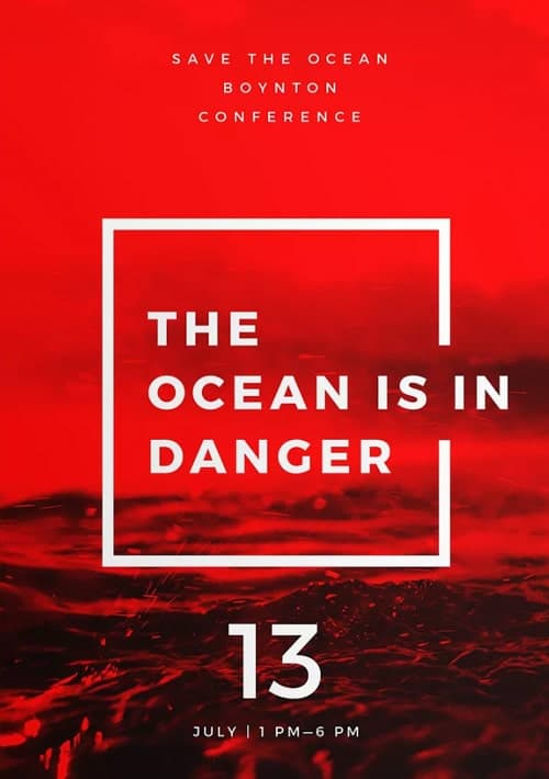 Ocean Clean Up Charity Flyer and Poster Template