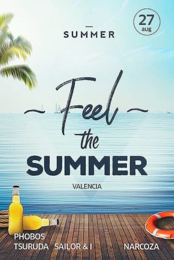 Summer Pool Free Flyer Template