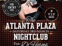 Atlanta Plaza Free Flyer Template