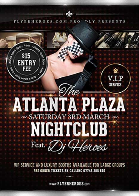 Atlanta Plaza Free Flyer Template