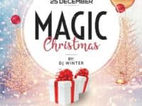 Magic Christmas Free Flyer Template