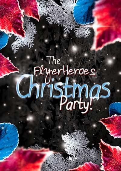 Free Cold Winter Party Flyer Template