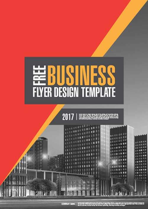 Corporate Business Free Illustrator Template