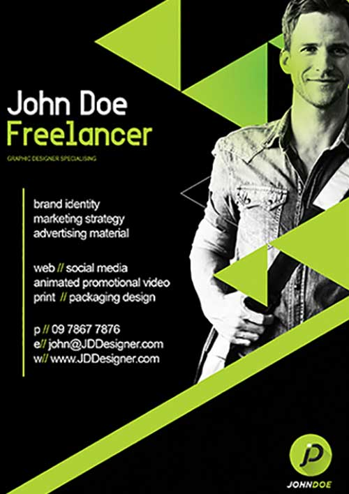 Freelancer Free Business Flyer Template FreePSDFlyer-com