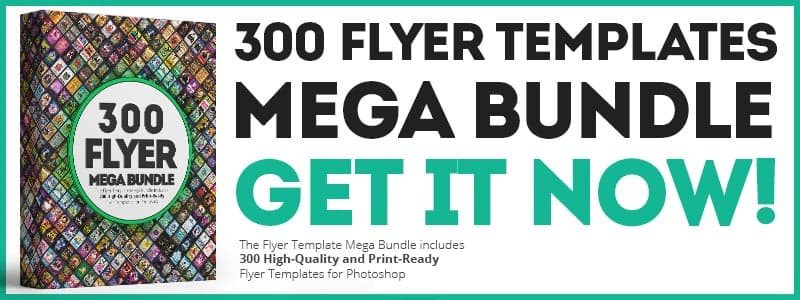 300 Flyer Templates Mega Bundle Deal