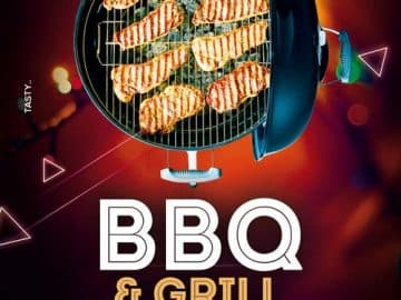 BBQ & Grill Event Free Flyer Template