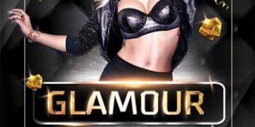 Free Glamour Party Flyer Template
