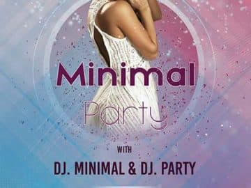 Minimal Dance Party Free Flyer Template