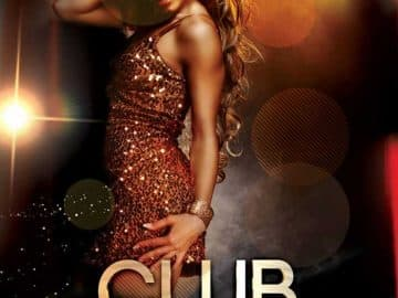 Club Night Free Party Flyer Template