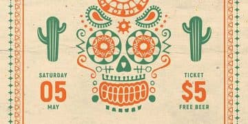 Free Cinco De Mayo Celebration Flyer Template