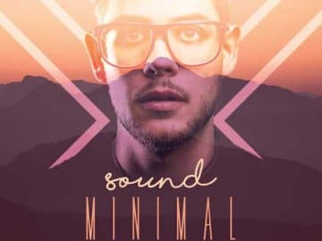 Free Minimal Sound Party Flyer Template