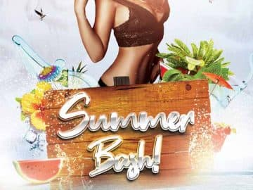 Summer Bash Free Party Flyer Template