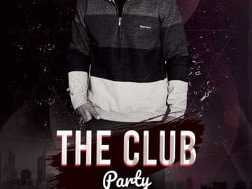 The Club Party Free Flyer Template
