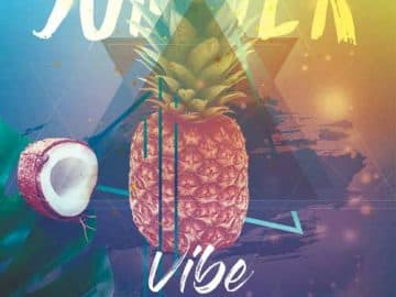Tropical Vibes Free Party Flyer Template