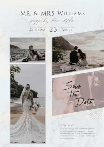 Wedding Photography Free Flyer Template
