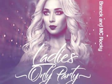 Ladies Only Party Free Flyer Template