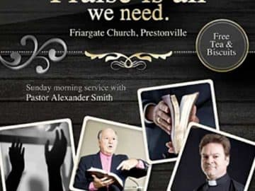 Praise Free Church Flyer Template