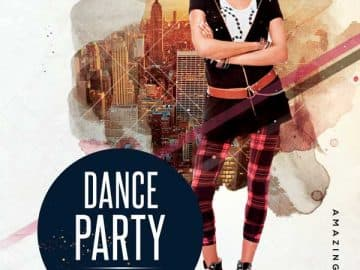 Urban Dance Party Free Flyer Template