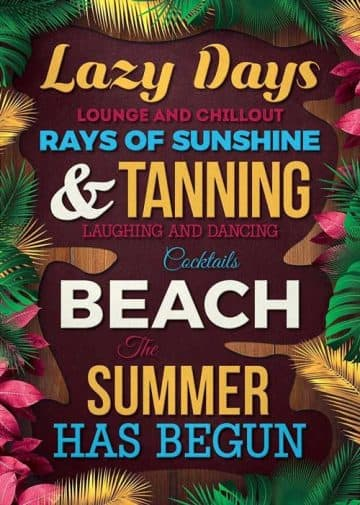 Free Summer Quote Flyer Template