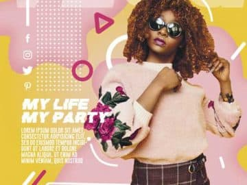 Lifestyle Party Free Flyer Template