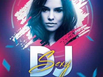 Sexy DJ Party Free Flyer Template