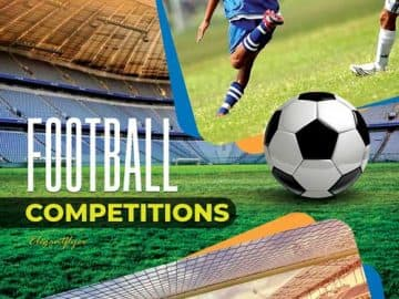 Soccer Competitions Free Flyer PSD Template