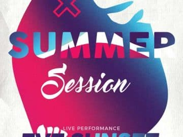 Summer Sessions Electro Party Free Flyer Template