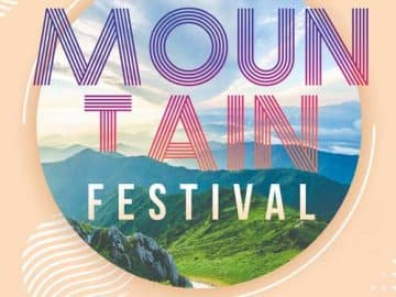 Mountain Festival Free Party Flyer Template