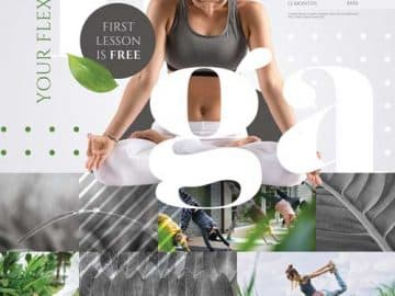 Yoga Center Free Flyer Template
